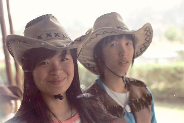Sharon as Cow Girl
