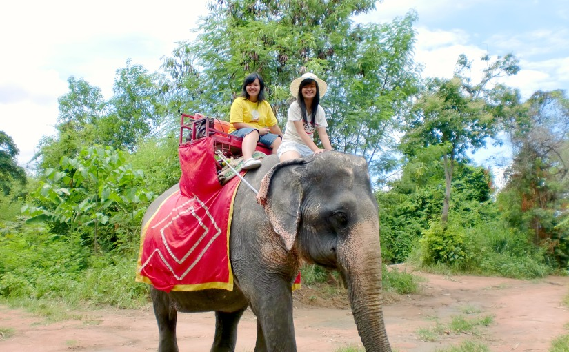 Elephant Trekking Adventure at Pattaya, Thailand