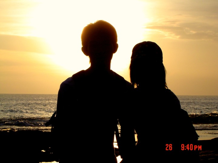 Sunset at Tanah Lot Bali