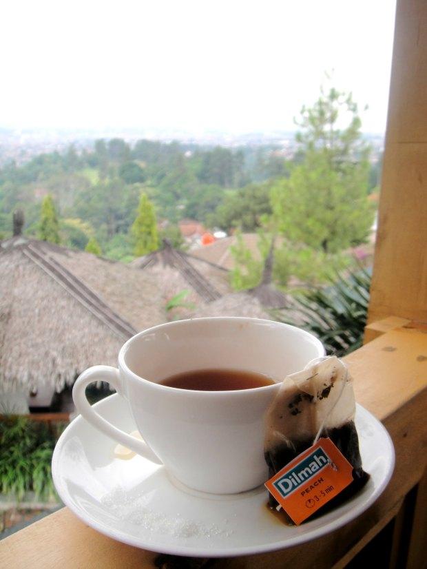 Peach Tea Dilmah