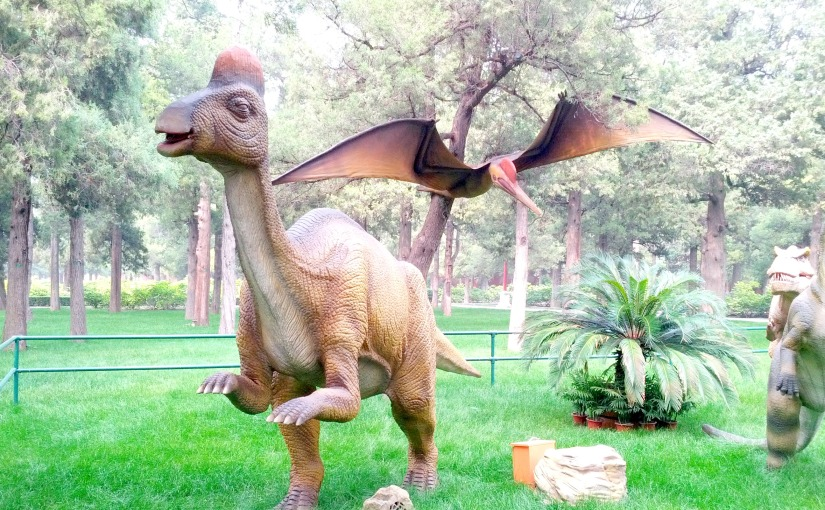 Dinosaurs come alive at China!