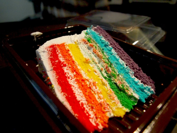 Rainbow Cake Ninotchka