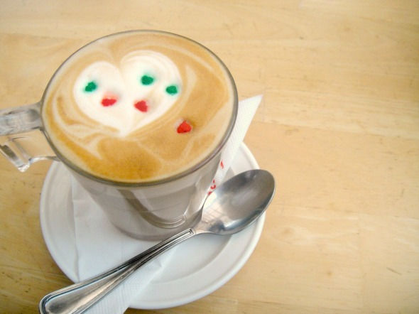 Hot Cafe Latte