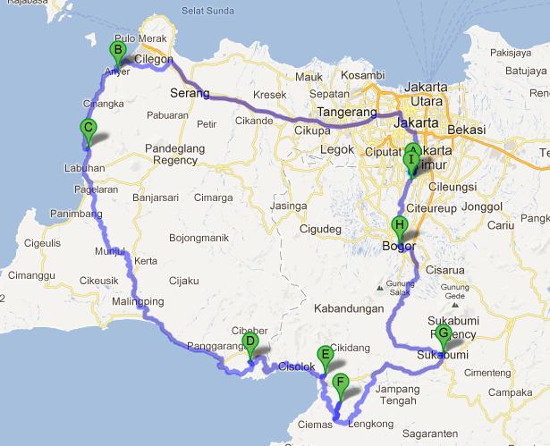 Java Island Road Map
