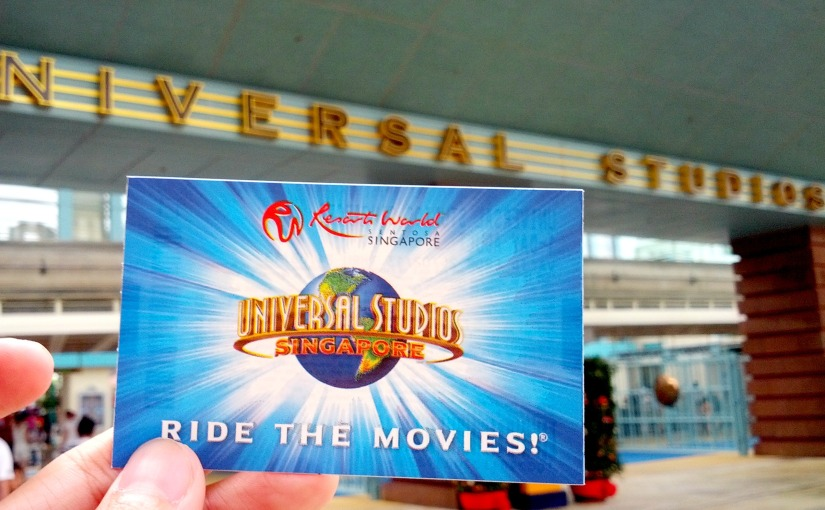 A Day in the Movies – Universal Studio Singapore
