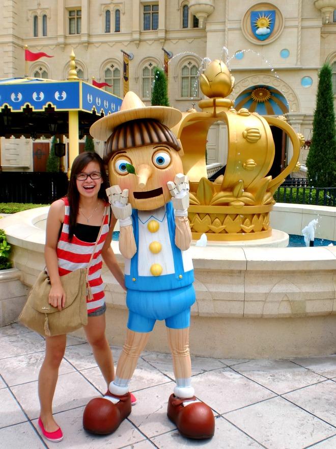 Pinocchio Universal Studio