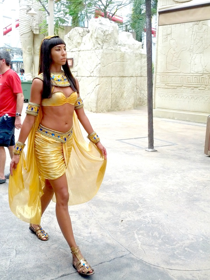 Cleopatra Universal Studio Singapore