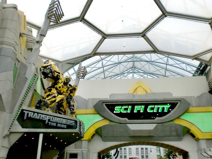 Sci-Fy City Universal Studio