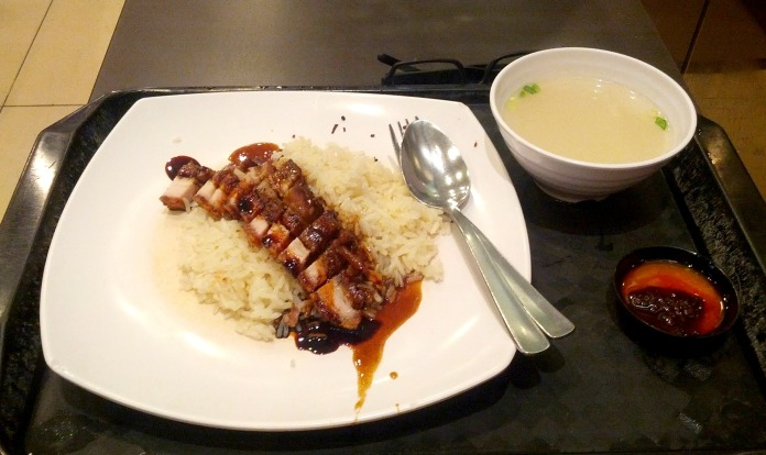 Hainan Rice with Grilled Pork