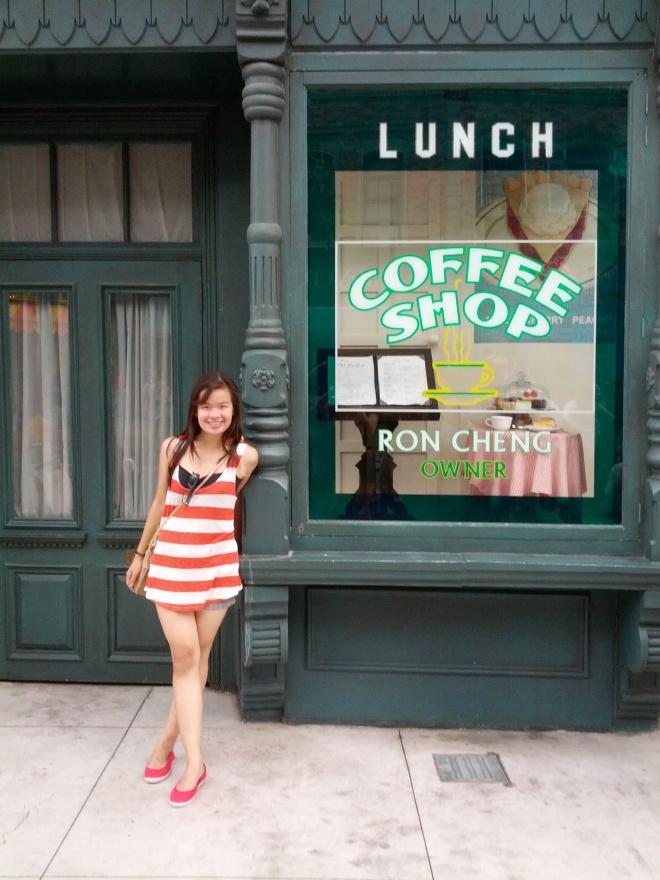 Coffee Shop at Universal Studio