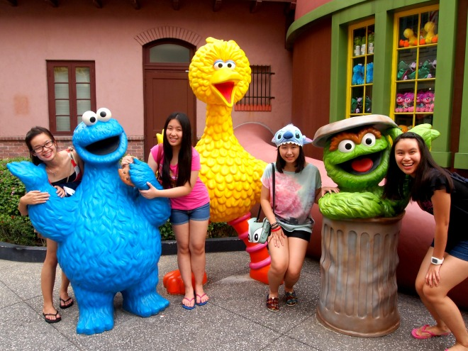 Sesame Street Universal Studio Singapore