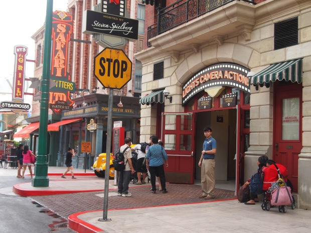 New York Strees Universal Studio Singapore
