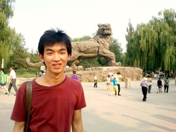Tiger Statue in Beijing Zoo