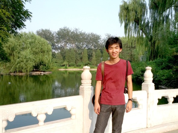 Fredric Sanjaya in Beijing Zoo