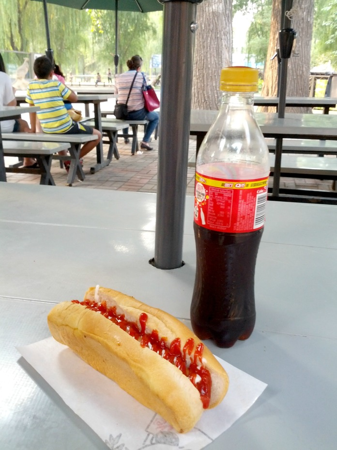 Hotdog Beijing Zoo