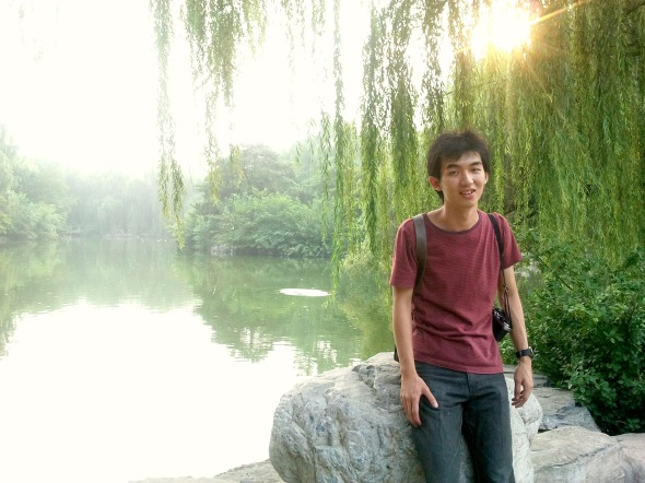 Fredric in Beijing Zoo