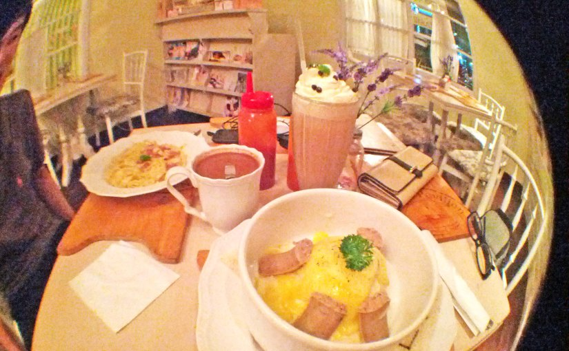Our Lovely Late Valentine's Dinner at Nanny's Pavillon