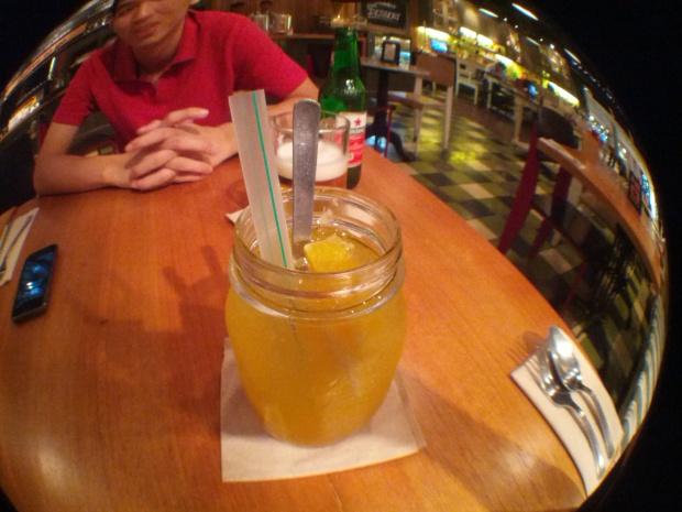 Manggo Orange Squash Kitchenette