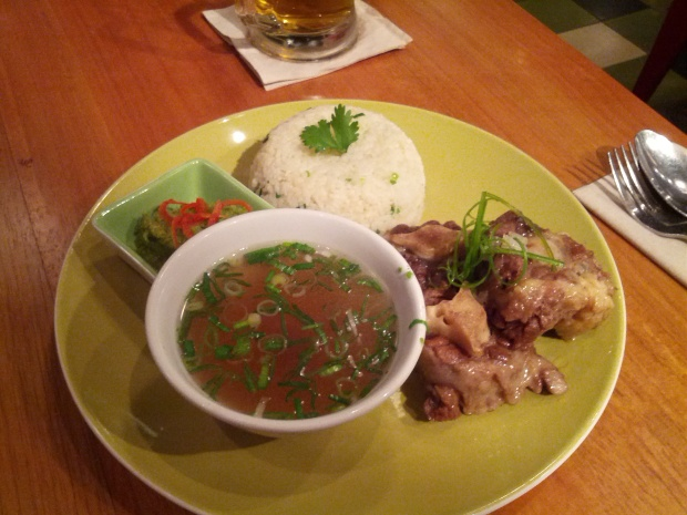 Fried Oxtail Hainan Rice Kitchenette