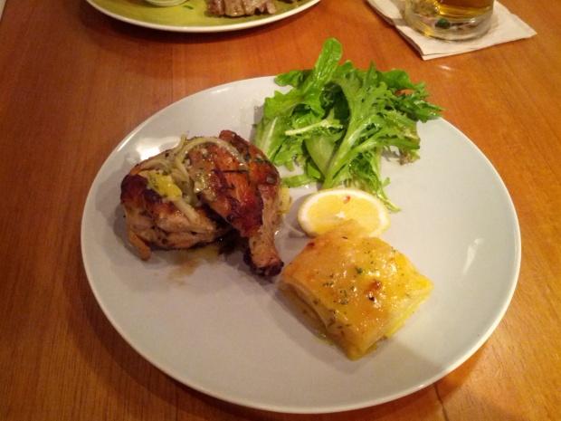 Grilled Chicken Kitchenette
