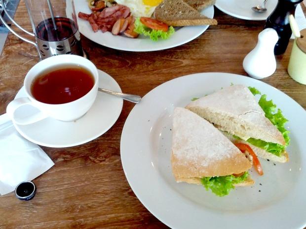 Grilled Chicken Sandwich at Bread Basket