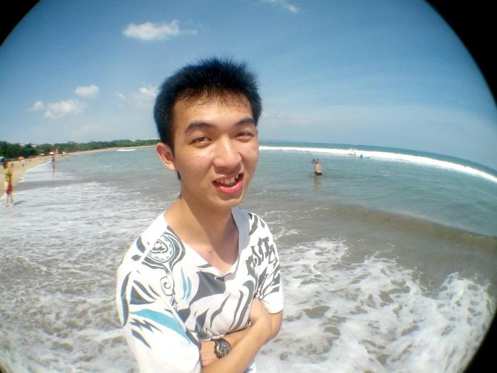 Fredric at Kuta Beach