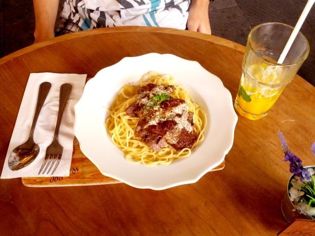 Pasta Nanny's Pavillon