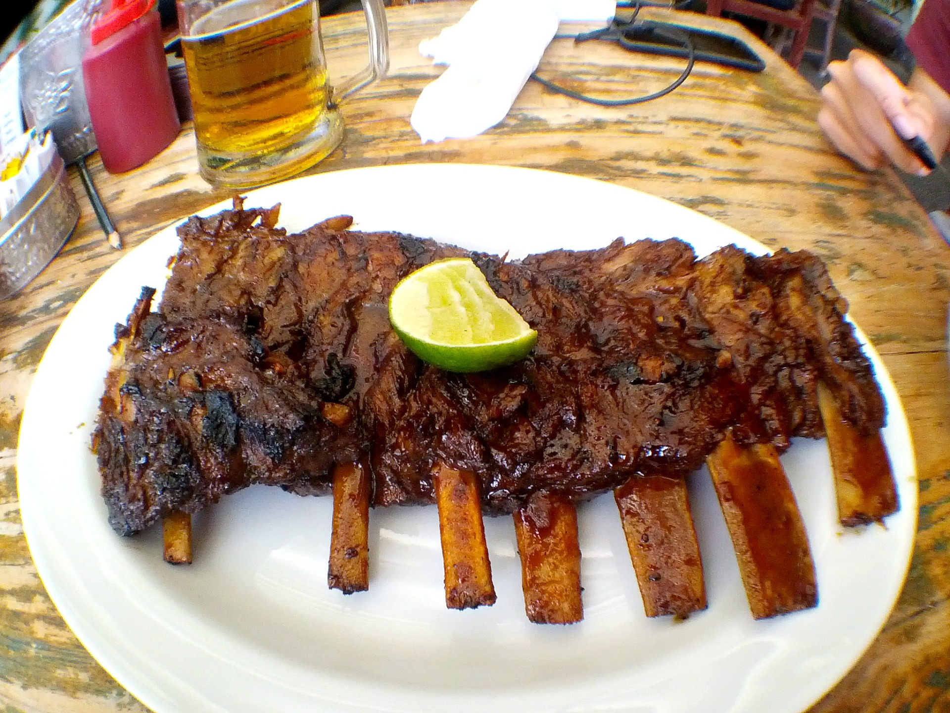 Naughty Nuri's Pork Ribs