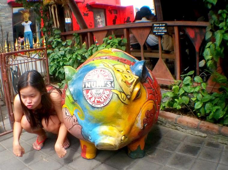 Naughty Nuri's Pig
