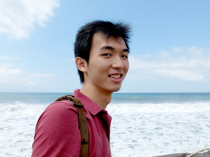 Fredric Sanjaya at Padang Galak Beach