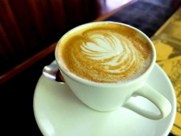 Flat White at Porch Cafe