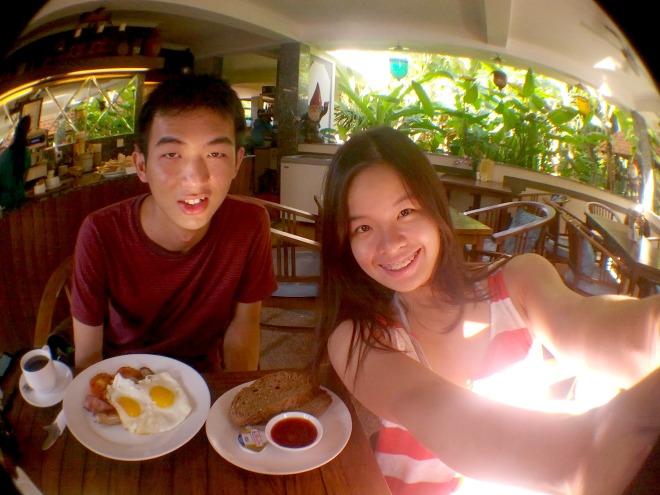 Breakfast at Luhtu's Coffee Shop