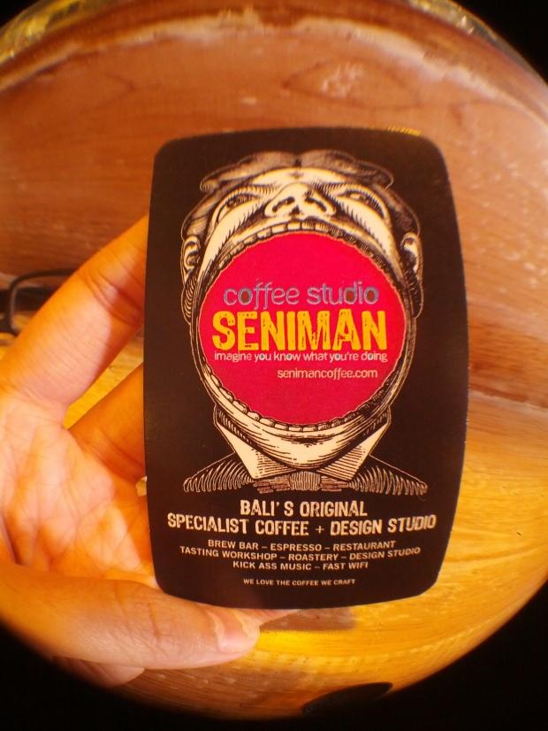 Seniman Coffee Studio Card