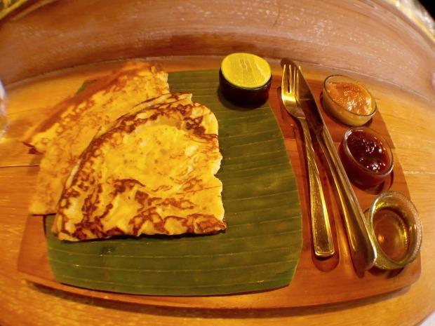 Crepe Pancake at Seniman Coffee Studio