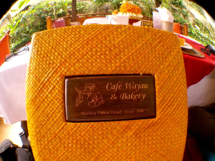 Cafe Wayan Menu