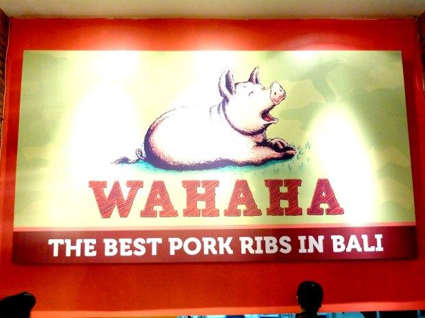 Wahaha Pork Ribs Bali