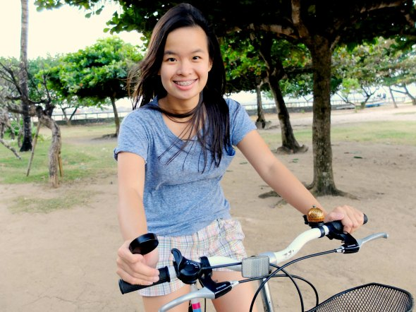 Bike Riding at Sanur Beach