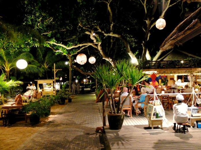 Dinner at Sanur Beach