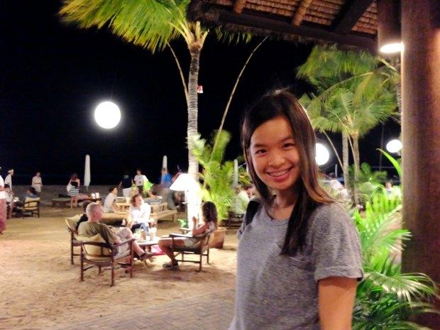 Sanur Beach at Night