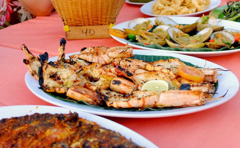Jimbaran Seafood Dinner,Bali