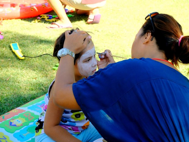 Face Painting at Jazz Market By The Sea