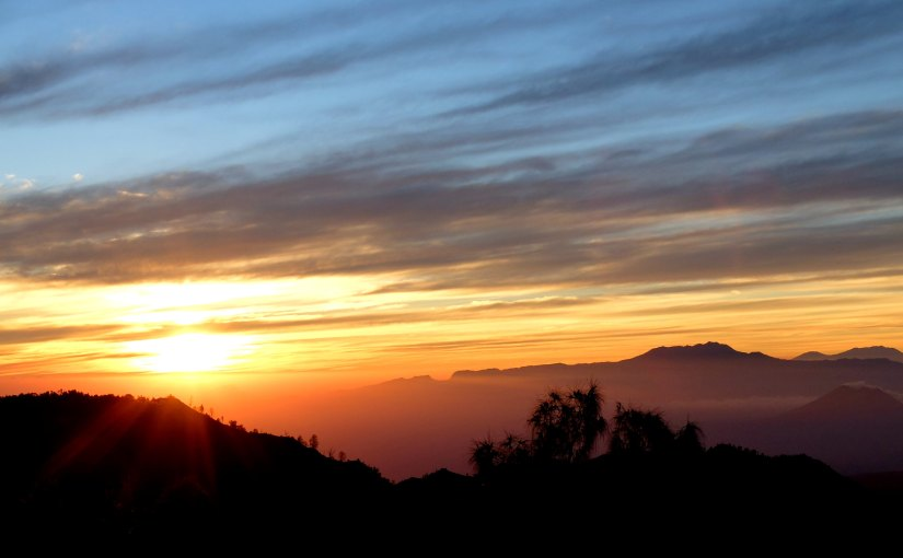 Catching Sunrise at Mount Bromo