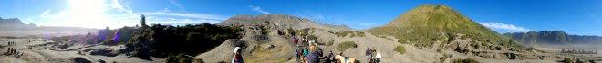 Mount Bromo 360 view