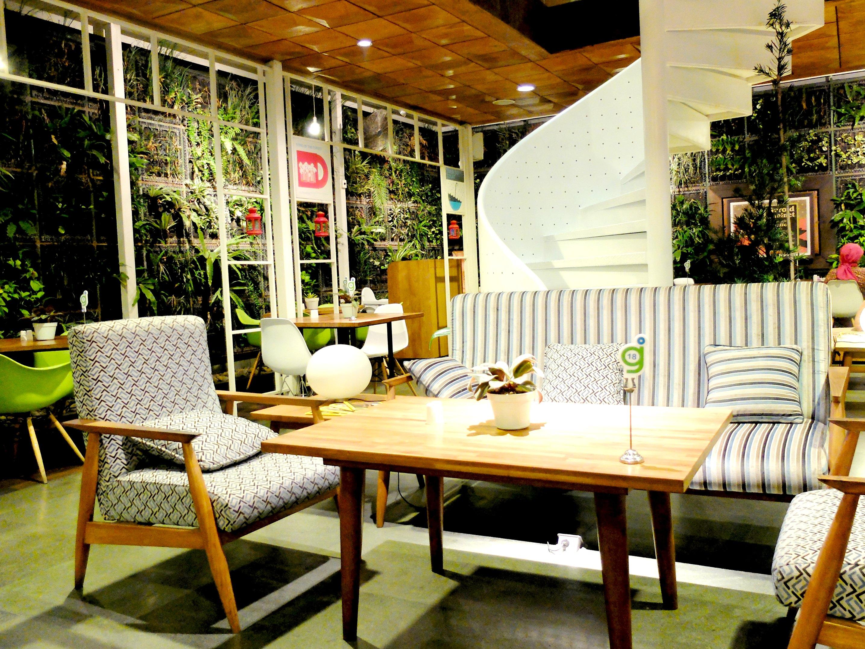Origin house and kitchen interior