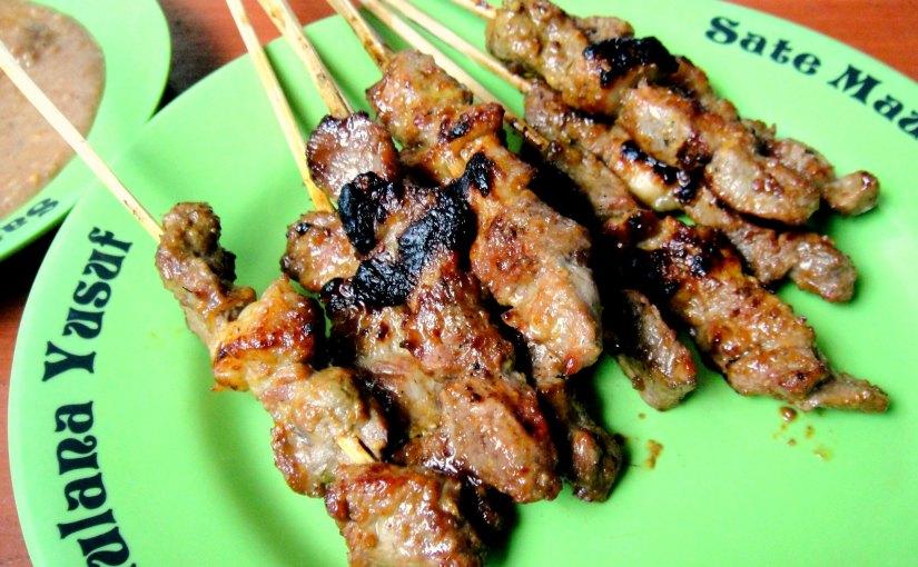 Bandung Street Food : Sate MaulanaYusuf