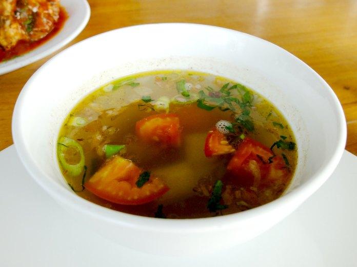 Lawang Wangi Oxtail Soup