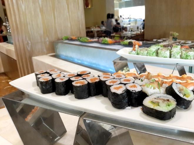 Sashimi The Cafe The Mulia Bali