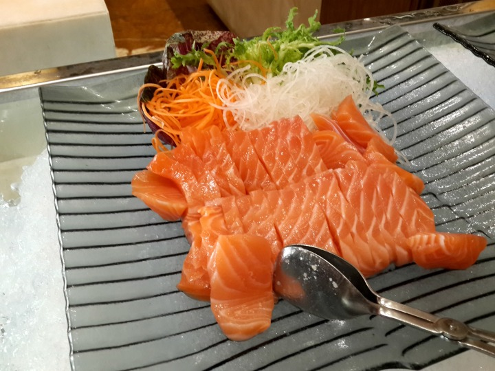 Sashimi The Cafe The Mulia Bali