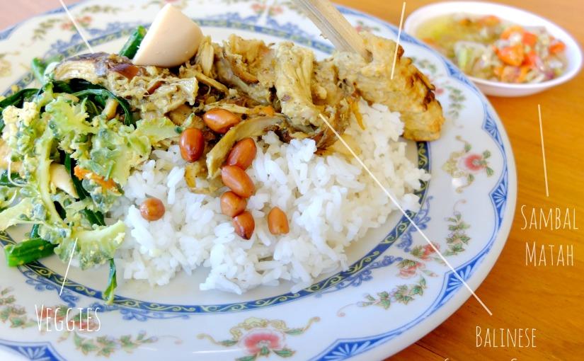 Taste of Bali : Nasi AyamBali