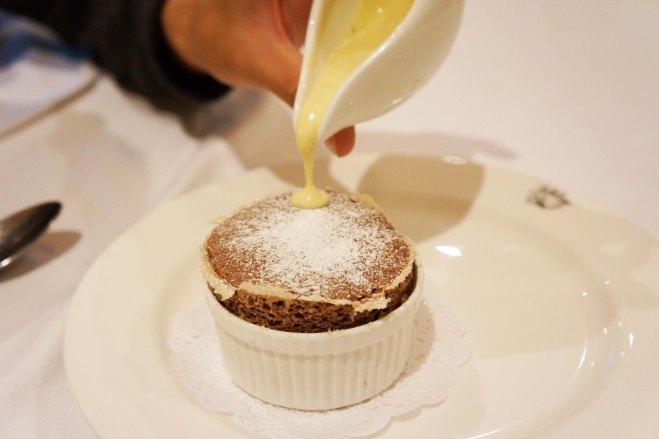 Chocolate Souffle at Jubilare